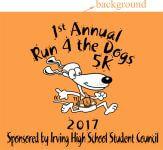 Run4TheDogs 5K registration logo