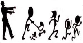 RunDead Zombie 5k for CASA  registration logo