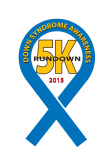 RunDown 5K registration logo