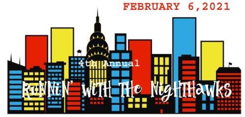 Runnin' with the Nighthawks registration logo
