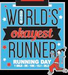 Running Day 1 Mile, 5K, 10k, 13.1, 26.2 registration logo