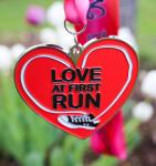 Running Day 5K - Love at First Run registration logo