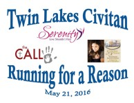 Running for a Reason 5K registration logo