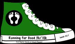 Running for Good 2015 registration logo