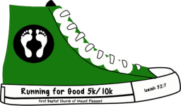 Running for Good 2015 registration logo