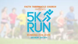 Running for Hope 5k registration logo