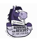Running for Rescues 5K & 10K registration logo