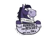 Running for Rescues 5K Plus & 7-Miler registration logo