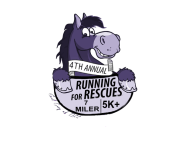 Running for Rescues 5K Plus & 7-Miler registration logo