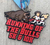 Running of the Bulls 5K & 10K registration logo