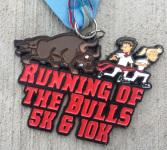 Running of the Bulls 5K & 10K registration logo