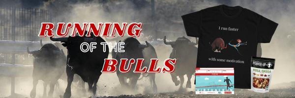 Running of the Bulls Virtual Race 2021 registration logo