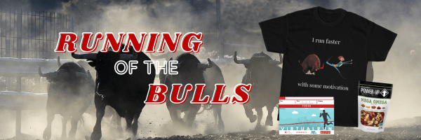 Running of the Bulls Virtual Race registration logo