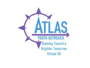Running Toward a Brighter Tomorrow Virtual 5K registration logo
