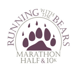 Running with the Bears registration logo