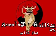 Running with the Bulls registration logo