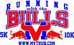 Running With the Bulls-Toros 5K and 10K registration logo