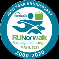 RUNorwalk 5K registration logo