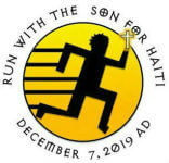 Run/Walk with the Son for Haiti 5K registration logo