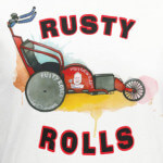 Rusty Rolls 5K registration logo