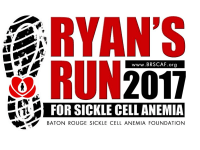 Ryan's Run for Sickle Cell Anemia registration logo