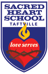 sacred heart school 13th annual dash to heaven one mile race registration logo
