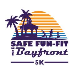 Safe Fun-Fit at the Bayfront 5K registration logo