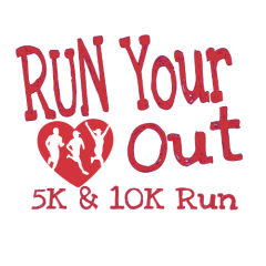 Safe Fun-Fit at the Bayfront Presents Run your Heart out 5K and 10K registration logo