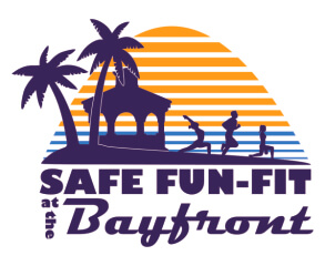 Safe Fun-Fit at the Bayfront registration logo