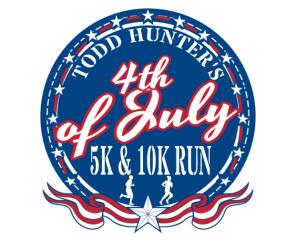 Safe Fun Fit Presents Todd Hunter's 4th of July 5K/10K registration logo