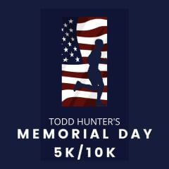 Safe Fun-Fit presents Todd Hunter's Memorial Day 5K/10K registration logo