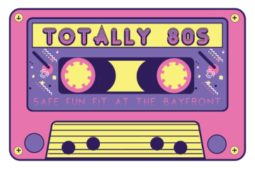 Safe Fun Fit Presents Todd Hunter's Totally 80s 5K and 10K registration logo