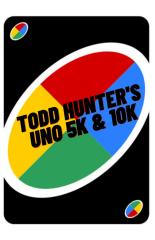 Safe Fun-Fit Presents Todd Hunter's UNO 5K & 10K Run registration logo