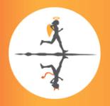 Saints and Sinners Half Marathon registration logo