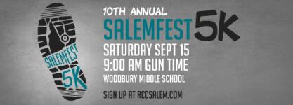 SalemFest 5K registration logo