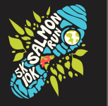 Salmon Run 5k/10k and kids run registration logo