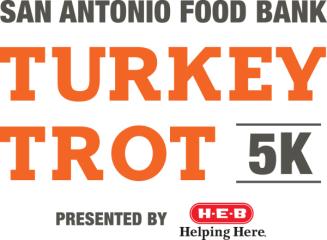 San Antonio Food Bank VIRTUAL Turkey Trot registration logo