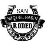 San Miguel Basin Rodeo registration logo