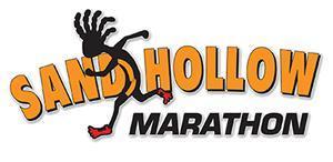 Sandhollow Marathon and Half Marathon registration logo