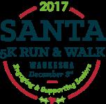 Santa 5K Run & Walk registration logo