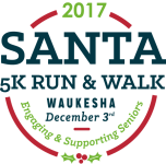 Santa 5K Run & Walk registration logo
