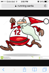 santa house 5k registration logo