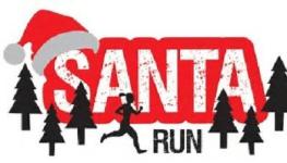 Santa Run registration logo