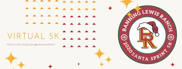Santa Sprint 2020 Virtual 5k registration logo