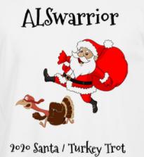 Santa / Turkey Trot registration logo