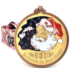 Santa's Big Day 1M 5K 10K 13.1 26.2 registration logo