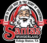 Santa's Wonderland Christmas 1 Mile Fun Run registration logo