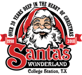Santa's Wonderland Christmas 5K Fun Run registration logo