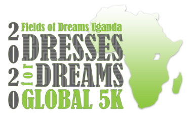 Virtual Dresses for Dreams Global 5K registration logo