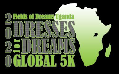 Virtual Dresses for Dreams Global 5K registration logo